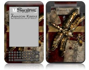 Conception - Decal Style Skin fits Amazon Kindle 3 Keyboard (with 6 inch display)