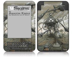 Mankind Has No Time - Decal Style Skin fits Amazon Kindle 3 Keyboard (with 6 inch display)