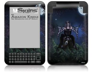 Kathy Gold - Bad To The Bone 1 - Decal Style Skin fits Amazon Kindle 3 Keyboard (with 6 inch display)