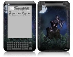 Kathy Gold - Bad To The Bone 2 - Decal Style Skin fits Amazon Kindle 3 Keyboard (with 6 inch display)