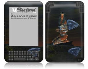 Kathy Gold - Fallen Angel 1 - Decal Style Skin fits Amazon Kindle 3 Keyboard (with 6 inch display)