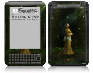 Kathy Gold - The Queen - Decal Style Skin fits Amazon Kindle 3 Keyboard (with 6 inch display)