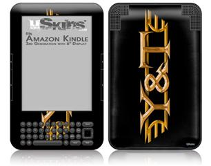 Y&T - Decal Style Skin fits Amazon Kindle 3 Keyboard (with 6 inch display)