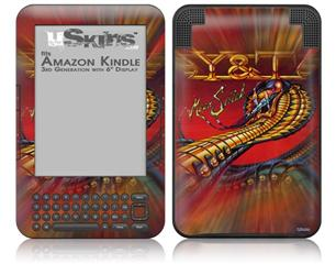 Y&T Mean Streak - Decal Style Skin fits Amazon Kindle 3 Keyboard (with 6 inch display)