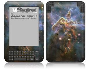 Hubble Images - Mystic Mountain Nebulae - Decal Style Skin fits Amazon Kindle 3 Keyboard (with 6 inch display)