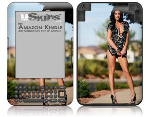 Denai Thomson 01 - Decal Style Skin fits Amazon Kindle 3 Keyboard (with 6 inch display)