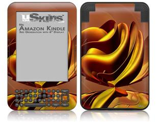 Blossom 01 - Decal Style Skin fits Amazon Kindle 3 Keyboard (with 6 inch display)