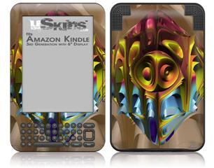 Software Bug - Decal Style Skin fits Amazon Kindle 3 Keyboard (with 6 inch display)