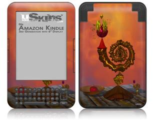 The Wizards Table - Decal Style Skin fits Amazon Kindle 3 Keyboard (with 6 inch display)