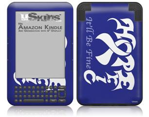 Hope Eric - Decal Style Skin fits Amazon Kindle 3 Keyboard (with 6 inch display)