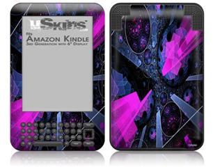 Powergem - Decal Style Skin fits Amazon Kindle 3 Keyboard (with 6 inch display)