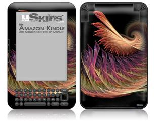 Anemone - Decal Style Skin fits Amazon Kindle 3 Keyboard (with 6 inch display)