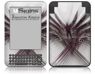 Bird Of Prey - Decal Style Skin fits Amazon Kindle 3 Keyboard (with 6 inch display)