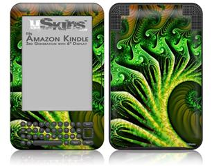 Broccoli - Decal Style Skin fits Amazon Kindle 3 Keyboard (with 6 inch display)