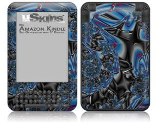 Broken Plastic - Decal Style Skin fits Amazon Kindle 3 Keyboard (with 6 inch display)