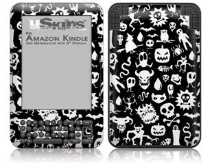 Monsters - Decal Style Skin fits Amazon Kindle 3 Keyboard (with 6 inch display)