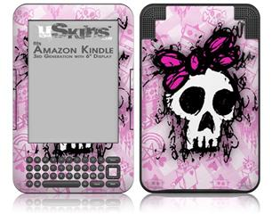 Sketches 3 - Decal Style Skin fits Amazon Kindle 3 Keyboard (with 6 inch display)