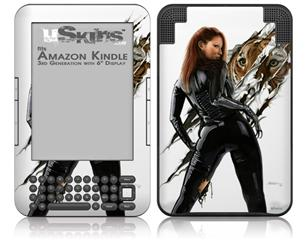Cats Eye - Decal Style Skin fits Amazon Kindle 3 Keyboard (with 6 inch display)