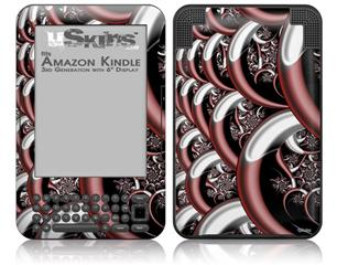 Chainlink - Decal Style Skin fits Amazon Kindle 3 Keyboard (with 6 inch display)