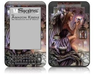 Fireflies - Decal Style Skin fits Amazon Kindle 3 Keyboard (with 6 inch display)