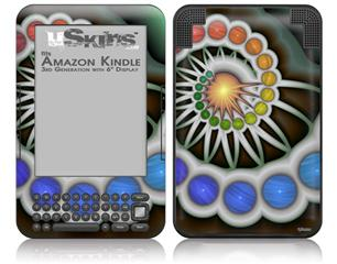 Copernicus - Decal Style Skin fits Amazon Kindle 3 Keyboard (with 6 inch display)