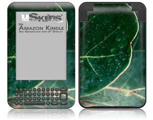 Leaves - Decal Style Skin fits Amazon Kindle 3 Keyboard (with 6 inch display)