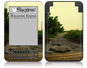 Paths - Decal Style Skin fits Amazon Kindle 3 Keyboard (with 6 inch display)