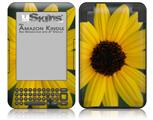 Yellow Daisy - Decal Style Skin fits Amazon Kindle 3 Keyboard (with 6 inch display)