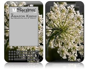Blossoms - Decal Style Skin fits Amazon Kindle 3 Keyboard (with 6 inch display)