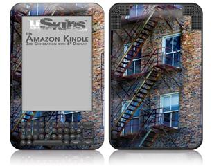 Stairs - Decal Style Skin fits Amazon Kindle 3 Keyboard (with 6 inch display)