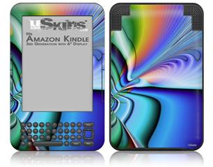 Discharge - Decal Style Skin fits Amazon Kindle 3 Keyboard (with 6 inch display)