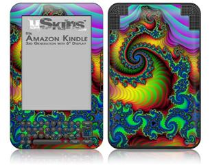 Carnival - Decal Style Skin fits Amazon Kindle 3 Keyboard (with 6 inch display)