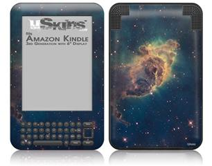 Hubble Images - Carina Nebula Pillar - Decal Style Skin fits Amazon Kindle 3 Keyboard (with 6 inch display)