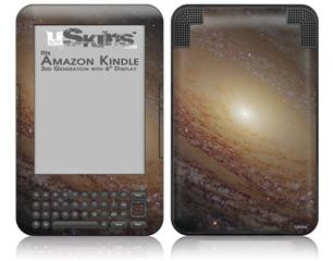 Hubble Images - Spiral Galaxy Ngc 2841 - Decal Style Skin fits Amazon Kindle 3 Keyboard (with 6 inch display)