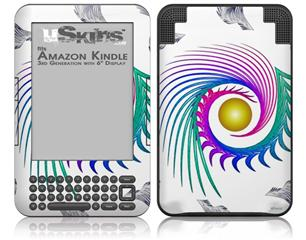 Cover - Decal Style Skin fits Amazon Kindle 3 Keyboard (with 6 inch display)