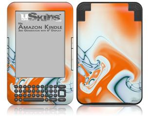 Darkblue - Decal Style Skin fits Amazon Kindle 3 Keyboard (with 6 inch display)