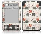 Elephant Love - Decal Style Skin fits Amazon Kindle 3 Keyboard (with 6 inch display)
