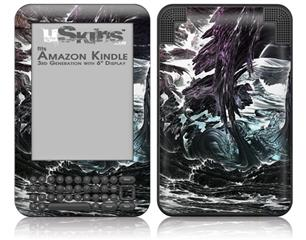 Grotto - Decal Style Skin fits Amazon Kindle 3 Keyboard (with 6 inch display)