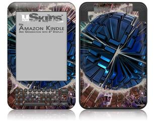 Spherical Space - Decal Style Skin fits Amazon Kindle 3 Keyboard (with 6 inch display)