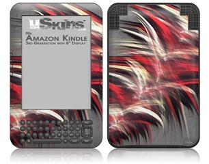 Fur - Decal Style Skin fits Amazon Kindle 3 Keyboard (with 6 inch display)