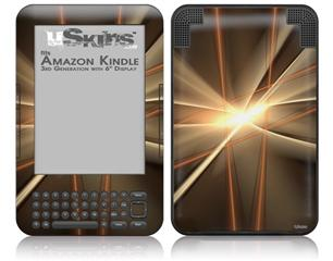 1973 - Decal Style Skin fits Amazon Kindle 3 Keyboard (with 6 inch display)