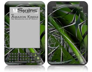 Haphazard Connectivity - Decal Style Skin fits Amazon Kindle 3 Keyboard (with 6 inch display)