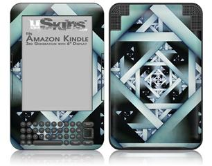 Hall Of Mirrors - Decal Style Skin fits Amazon Kindle 3 Keyboard (with 6 inch display)