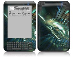 Hyperspace 06 - Decal Style Skin fits Amazon Kindle 3 Keyboard (with 6 inch display)