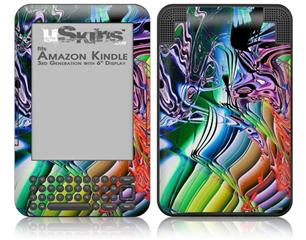 Interaction - Decal Style Skin fits Amazon Kindle 3 Keyboard (with 6 inch display)