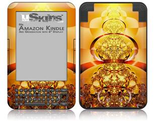 Into The Light - Decal Style Skin fits Amazon Kindle 3 Keyboard (with 6 inch display)