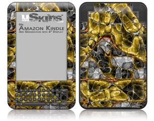 Lizard Skin - Decal Style Skin fits Amazon Kindle 3 Keyboard (with 6 inch display)
