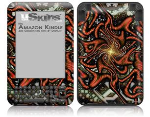 Knot - Decal Style Skin fits Amazon Kindle 3 Keyboard (with 6 inch display)