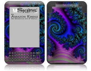 Many-Legged Beast - Decal Style Skin fits Amazon Kindle 3 Keyboard (with 6 inch display)