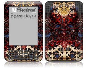 Nervecenter - Decal Style Skin fits Amazon Kindle 3 Keyboard (with 6 inch display)